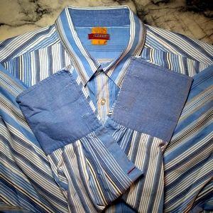 Mecca Casual Button down Dress shirt